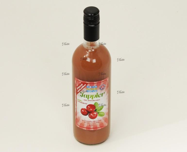brusnicovo-jablkova-štava-100%