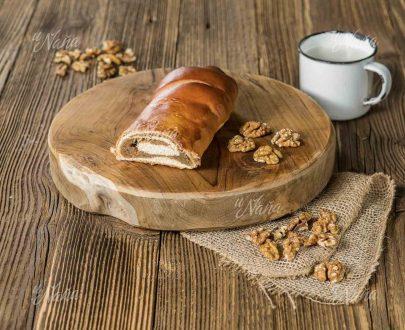 Závin s orechovou náplňou