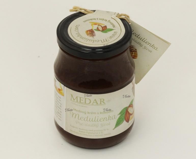 medulienka-medový-krém-s-kakaom