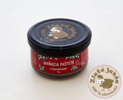 jahnacia pasteta-brusnica